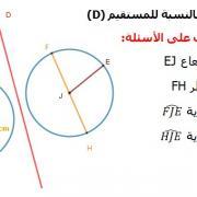 تصحيح التمارين التطبيقية  في الرياضيات الثانية إعدادي - درس التماثل المحوري