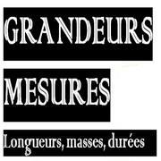 Exercices corrigés de maths 6éme - Longueurs Masses Durées