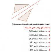 تصحيح التمارين التطبيقية  في الرياضيات السادسة إبتدائي - درس التماثل المحوري