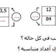 تصحيح التمارين التطبيقية  في الرياضيات السادسة إبتدائي - درس التناسبي...