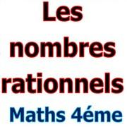 Exercices corrigés les nombres rationnels maths 4éme